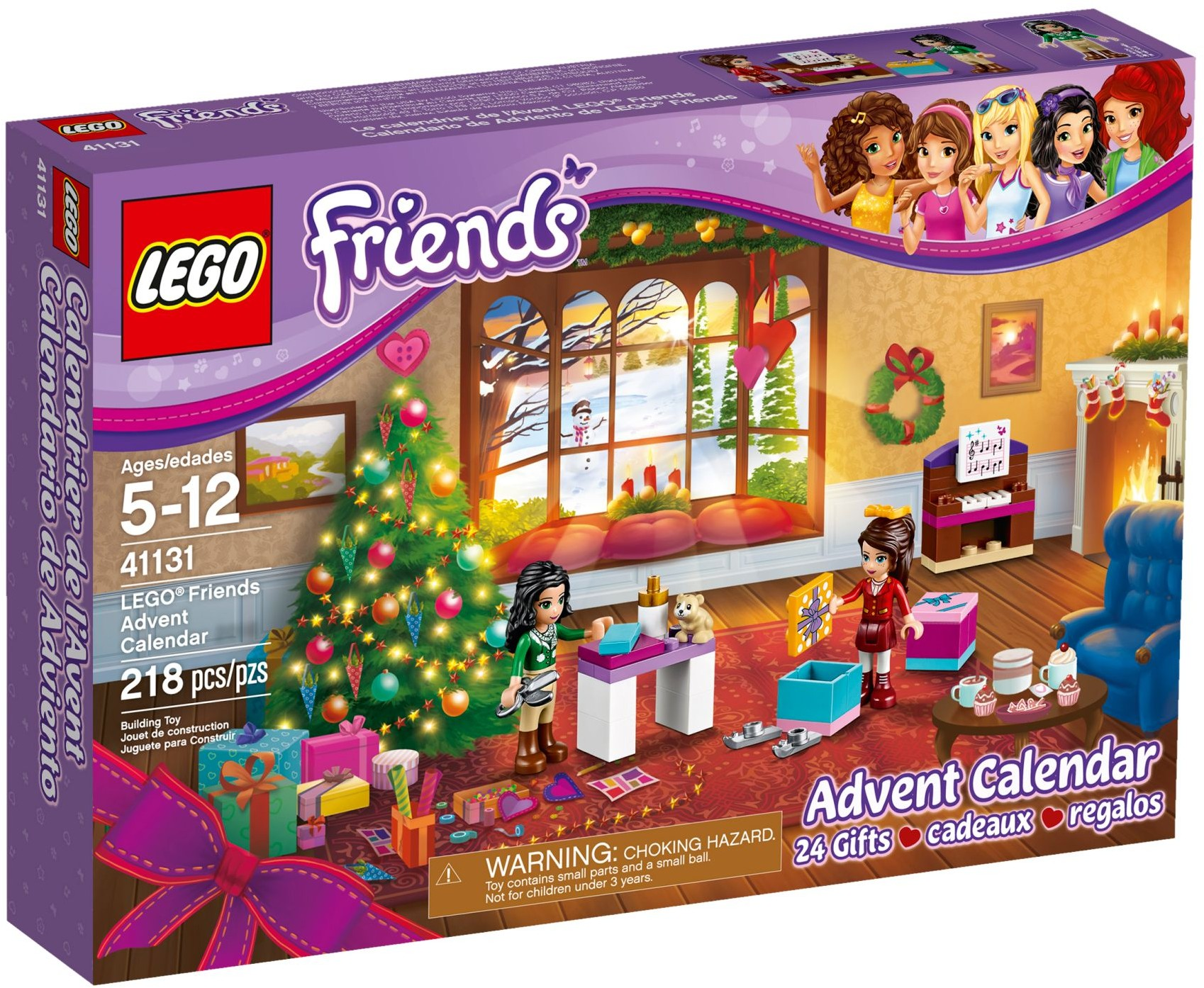 adventni kalendar lego friends SUPERLega.cz   obchod se super kostkami lega. LEGO Friends 41131  adventni kalendar lego friends