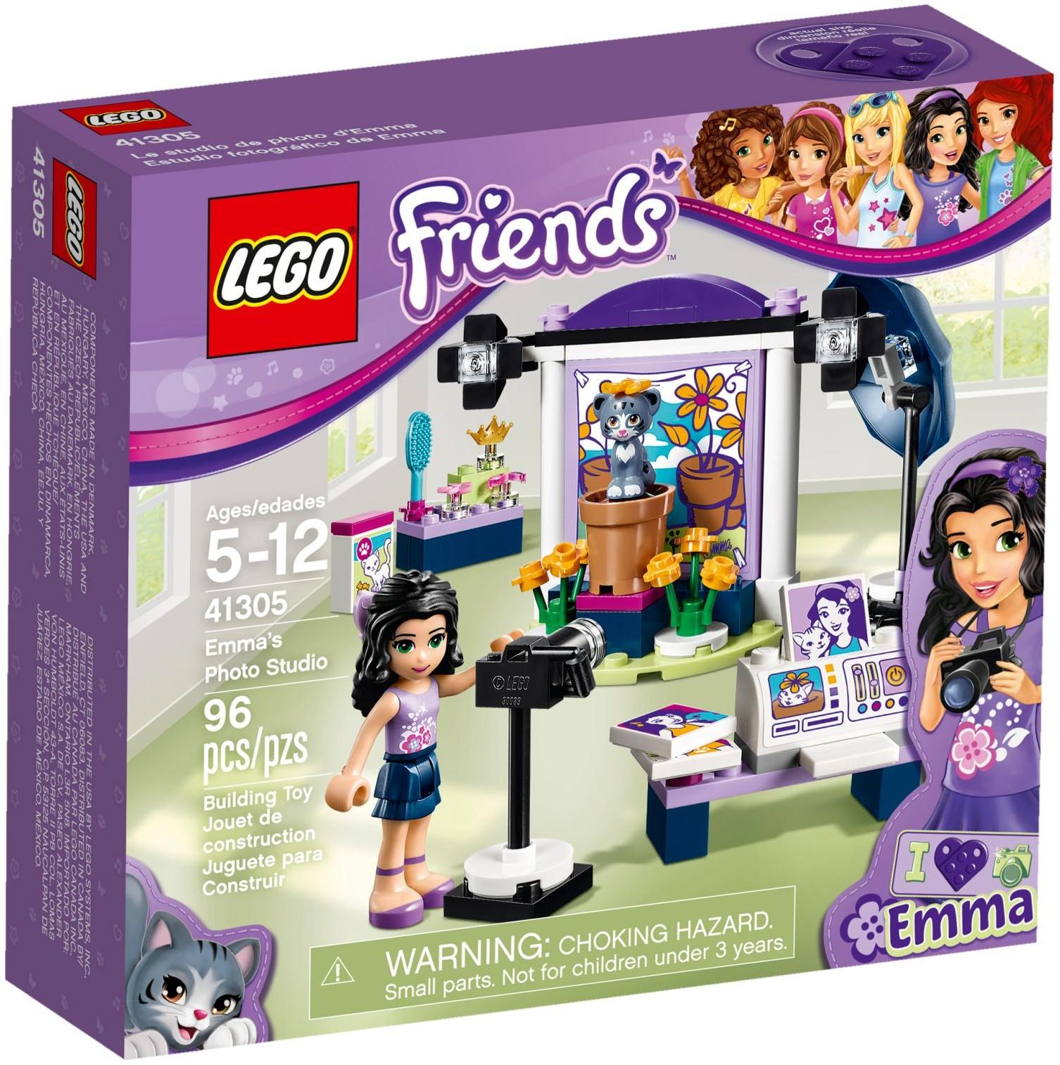 Lego Friends Emma Ateliér 41305 Fotografický A IeEH29YDWb