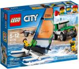 LEGO City Great Vehicles 60149 4x4 s katamaránem