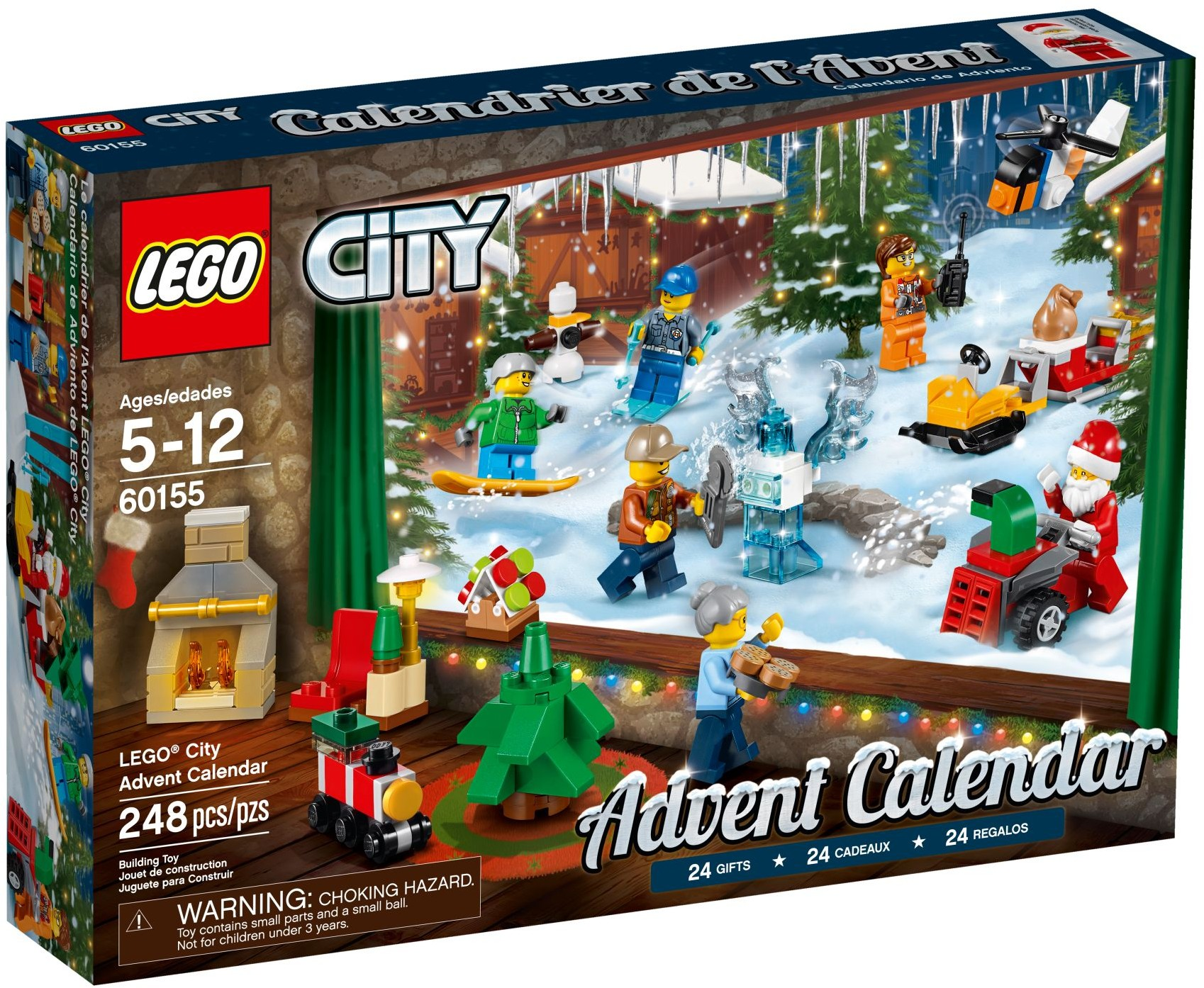 adventni kalendar lego SUPERLega.cz   obchod se super kostkami lega. LEGO City 60155  adventni kalendar lego