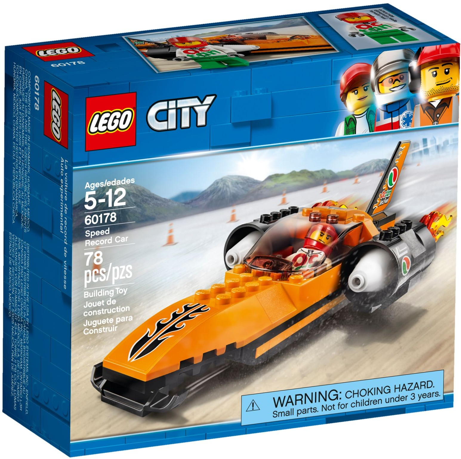 LEGO City Great Vehicles 60178 Rychlostní auto