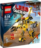 LEGO Movie 70814 Emmetův sestrojený robot