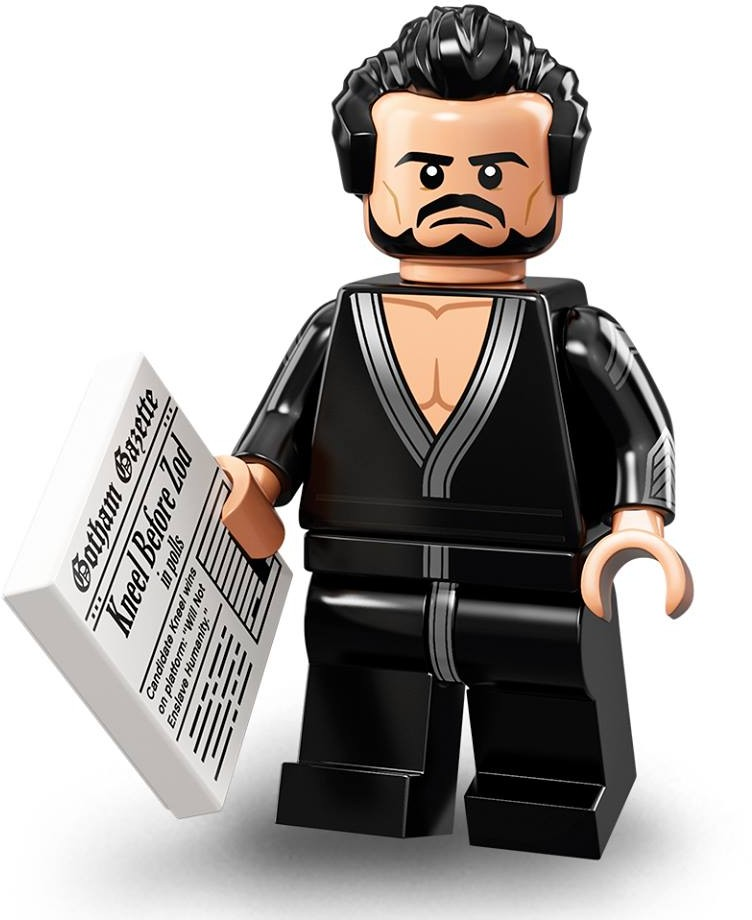 LEGO Minifigurky 71020 Batman MOVIE 2 General Zod