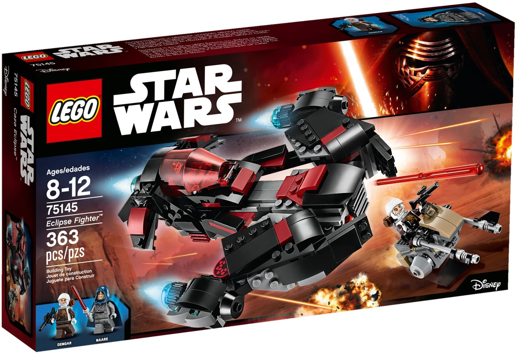 LEGO Star Wars 75145 Stíhačka Eclipse