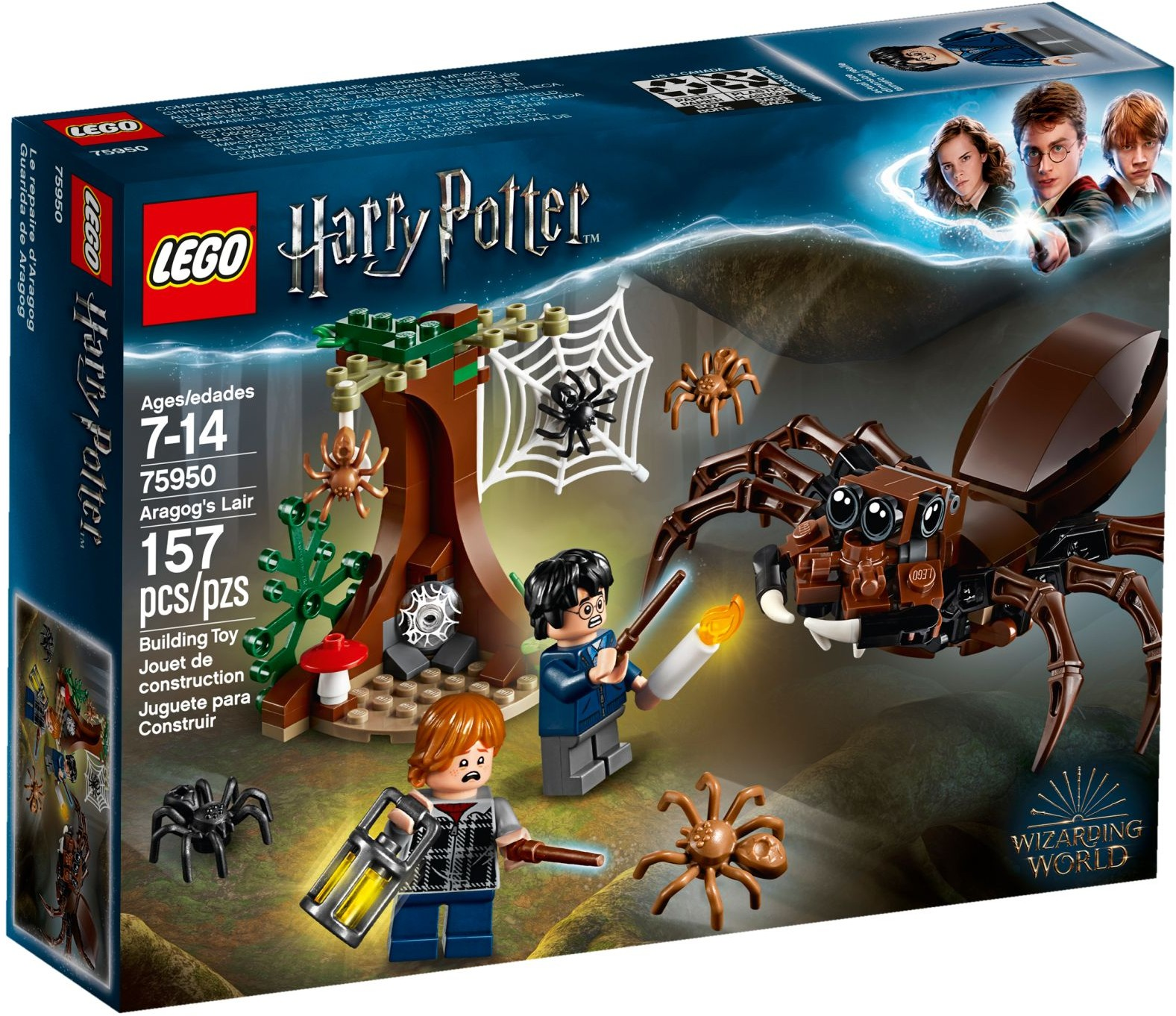 LEGO Harry Potter 75950 Aragogovo doupě