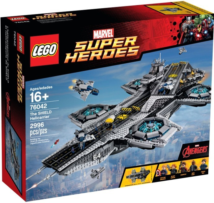 LEGO Super Heroes 76042 SHIELD Helicarrier