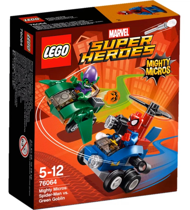 LEGO Super Heroes 76064 Mighty Micros: Spiderman vs. Green Goblin