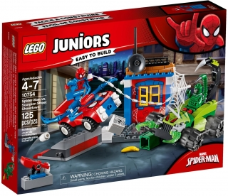 LEGO Juniors 10754 Spider-Man vs. Scorpion - Souboj na silnici