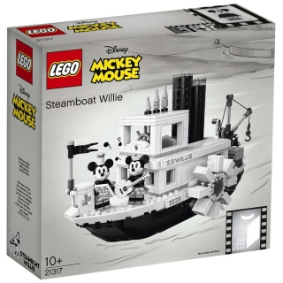 LEGO Ideas 21317 Parník Willie