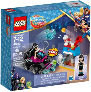 LEGO DC Super Hero Girls 41233 Lashina a vozidlo do akce