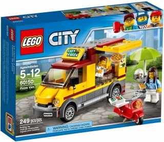 LEGO City Great Vehicles 60150 Dodávka s pizzou