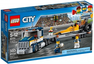 LEGO City Great Vehicles 60151 Transportér dragsteru