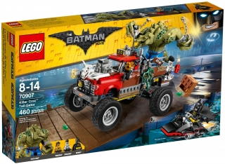 LEGO Batman Movie 70907 Killer Crocův Tail-Gator