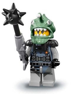 LEGO Minifigurky 71019 Ninjago movie - Shark Army Angler