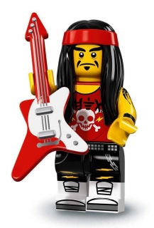 LEGO Minifigurky 71019 Ninjago movie - Gong & Guitar Rocker