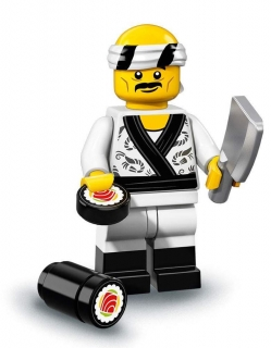 LEGO Minifigurky 71019 Ninjago movie - Sushi Chef
