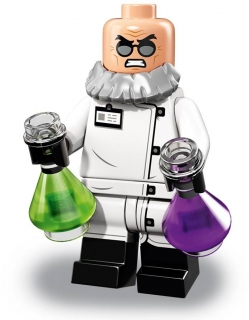 LEGO Minifigurky 71020 Batman MOVIE 2 Professor Hugo Strange