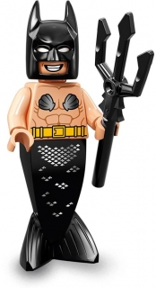 LEGO Minifigurky 71020 Batman MOVIE 2 Mermaid Batman
