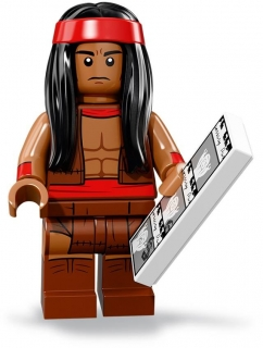 LEGO Minifigurky 71020 Batman MOVIE 2 Apache Chief
