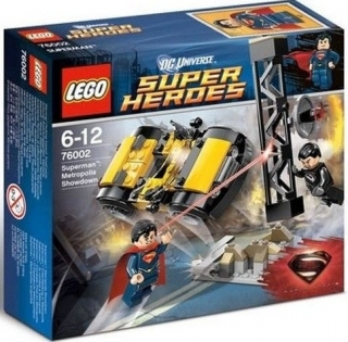 LEGO Super Heroes 76002 SuperMan: Metropolis Showdown