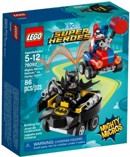LEGO Super Heroes 76092 Mighty Micros: Batman vs. Harley Quinn
