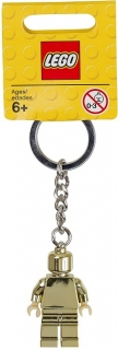 LEGO Minifigurky 850807 Gold Key Chain
