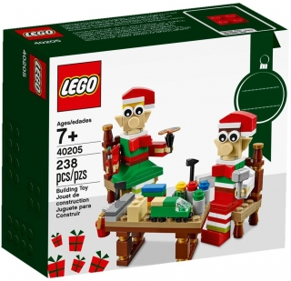 LEGO Seasonal 40205 Little Elf Helpers
