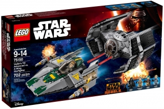 LEGO Star Wars 75150 Vaderova stíhačka TIE Advanced vs. stíhačka A-Win