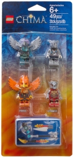 LEGO Minifigurky 850913 Fire and Ice  Accessory Set
